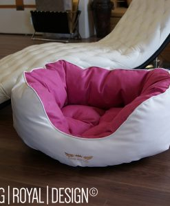 Hundebett kunstleder dog royal design